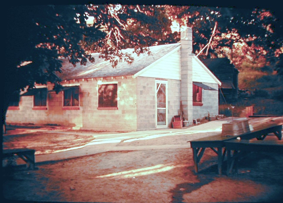 Camp 1965 (about) Dining Hall